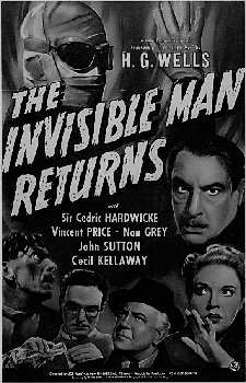 INVISIBLE MAN RETURNS THE